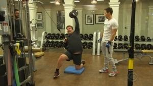 James Corden und das Workout von Mark Wahlberg | Awesome | Was is hier eigentlich los?