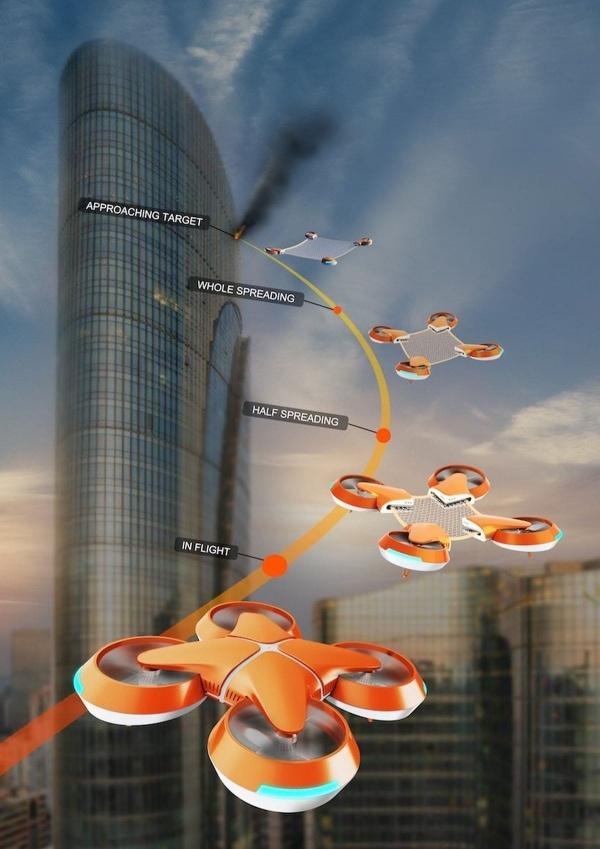 Net Guard – Ein Rettungsdrohnensystem für große Höhen | Gadgets | Was is hier eigentlich los?