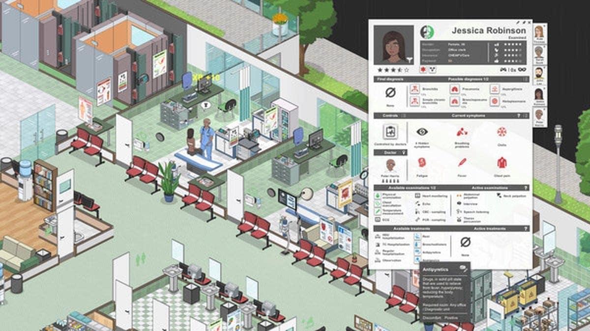 Project Hospital - Die etwas ernsthaftere Klinik-Simulation | Games | Was is hier eigentlich los?