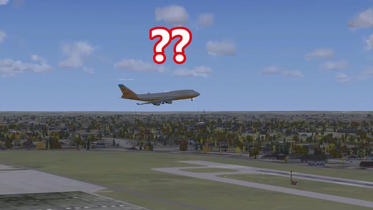Wenn ein professioneller Pilot bei der Flugsimulation mitmischt | Lustiges | Was is hier eigentlich los?
