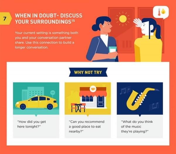 8 Tipps, um besser im Smalltalk zu sein | Was gelernt | Was is hier eigentlich los? | wihel.de