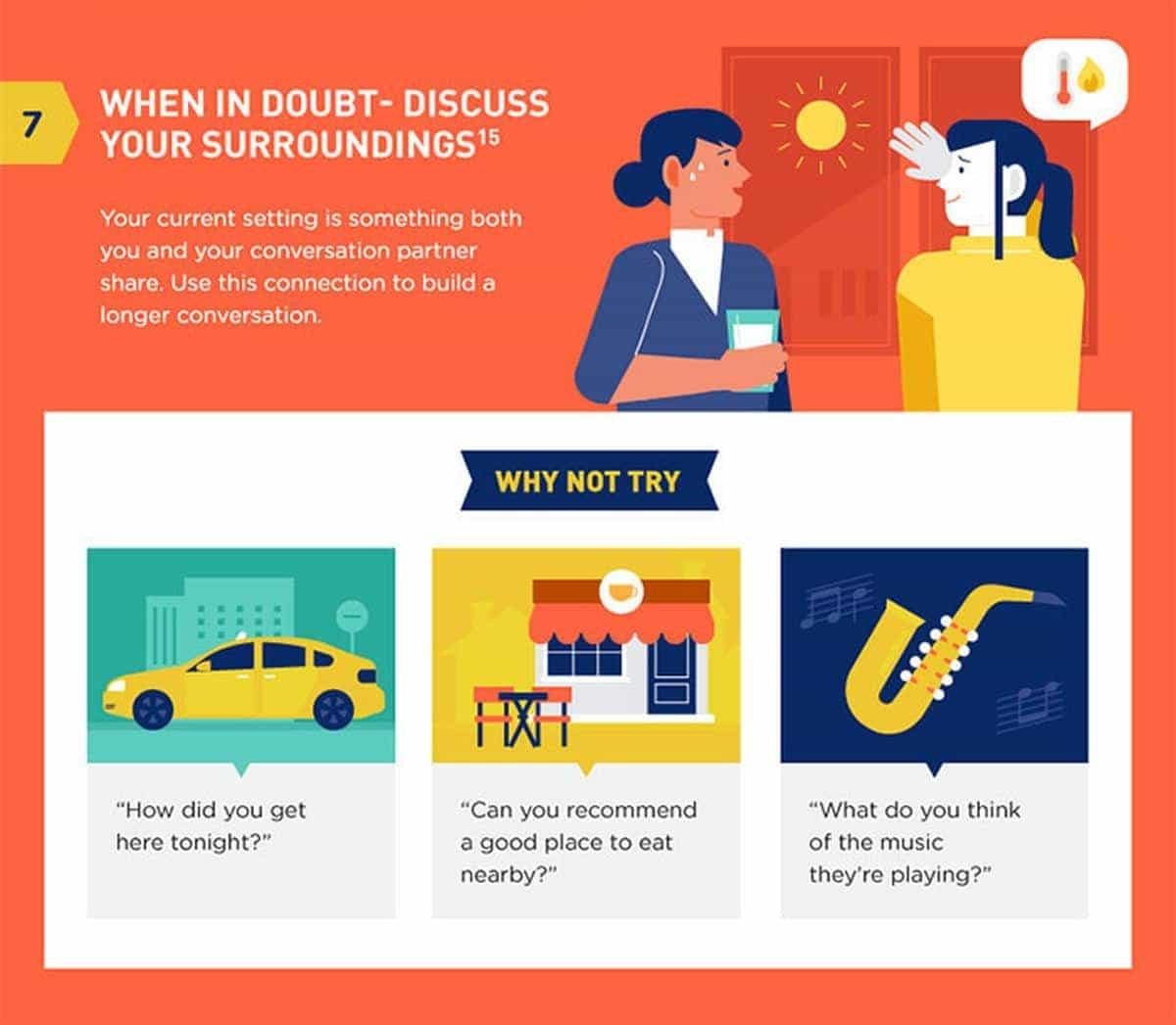 8 Tipps, um besser im Smalltalk zu sein | Was gelernt | Was is hier eigentlich los?