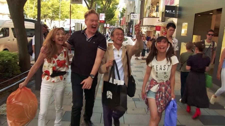Conan O'Brien in Japan – inklusive gemieteter Familie | Lustiges | Was is hier eigentlich los?