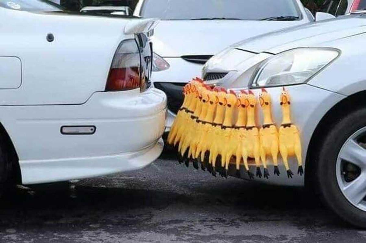 Einparkhilfe für Arme | Lustiges | Was is hier eigentlich los?