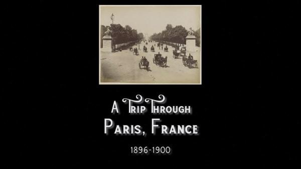 Filmaufnahmen aus Paris zwischen 1896 und 1900 | Zeitgeschichte | Was is hier eigentlich los? | wihel.de