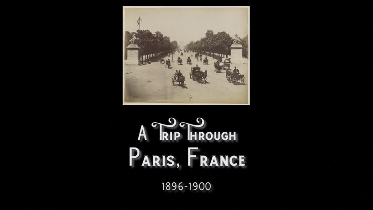 Filmaufnahmen aus Paris zwischen 1896 und 1900 | Zeitgeschichte | Was is hier eigentlich los?