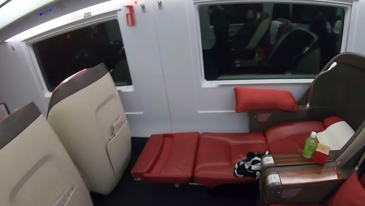 In der Business Class eines chinesischen Highspeed-Zuges | Travel | Was is hier eigentlich los?