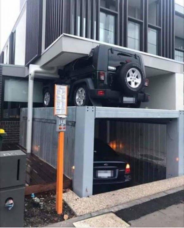 Wenn das Karma endlich auch bei Falschparkern zuschlägt   Lustiges   Was is hier eigentlich los?   wihel.de