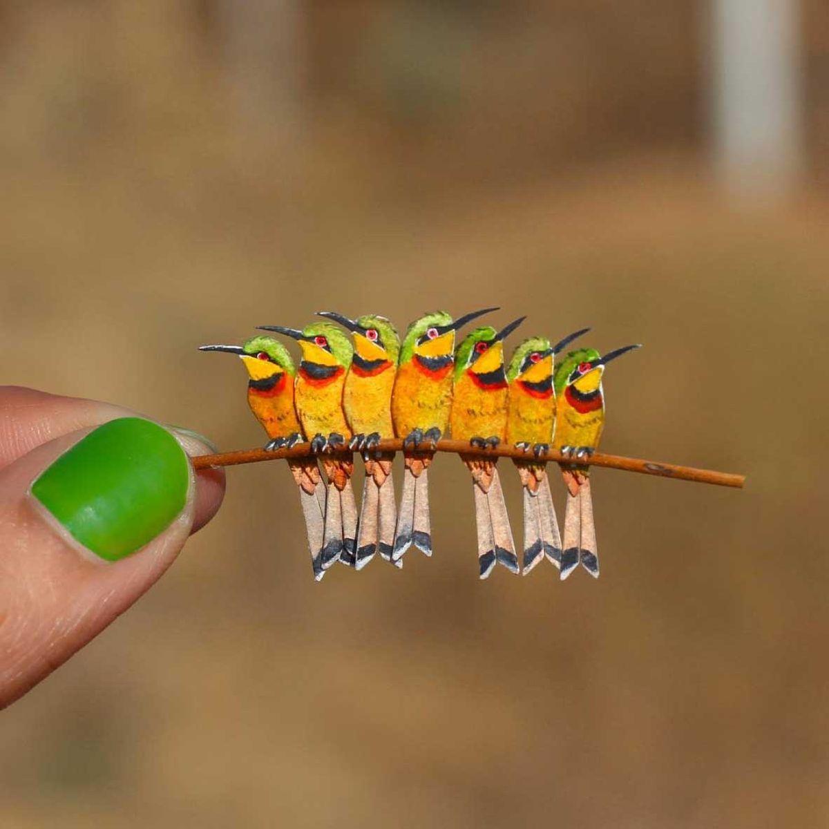365 Papiervögel von Nayan & Vaishali | Design/Kunst | Was is hier eigentlich los?