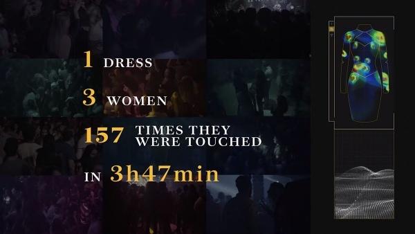 Ein Kleid, das zeigt, wo Frauen angefasst wurden | Gadgets | Was is hier eigentlich los? | wihel.de