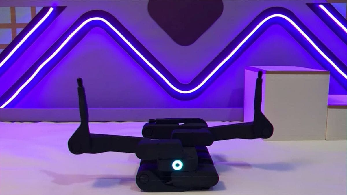Ein kleiner Roboter und seine Aerobic-Übungen | Gadgets | Was is hier eigentlich los?