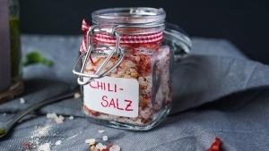 Geschenke aus der Küche: Chili Salz | Line kocht | Was is hier eigentlich los? | wihel.de