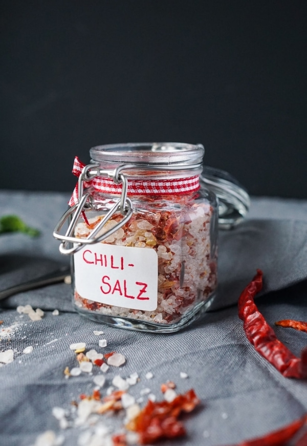 Geschenke aus der Küche: Chili Salz | Line kocht | Was is hier eigentlich los?