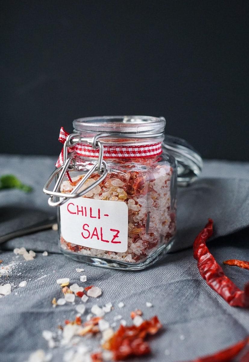 Geschenke aus der Küche: Chili Salz | Was is hier eigentlich los