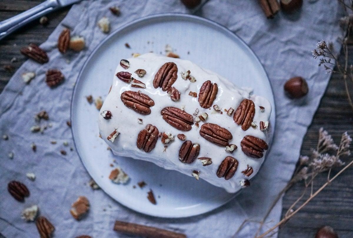 Line backt winterlichen Cinnamon-Swirl-Kuchen mit Frischkäse-Topping | Line backt | Was is hier eigentlich los?