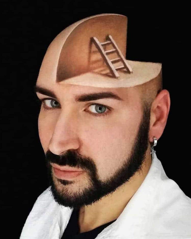 Luca Luce und sein 3D-Make-Up | Design/Kunst | Was is hier eigentlich los?