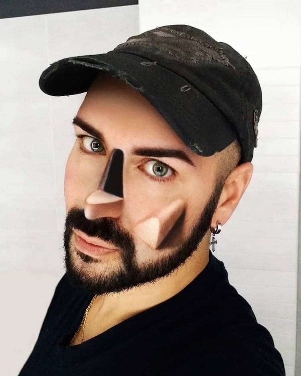 Luca Luce und sein 3D-Make-Up | Design/Kunst | Was is hier eigentlich los? | wihel.de