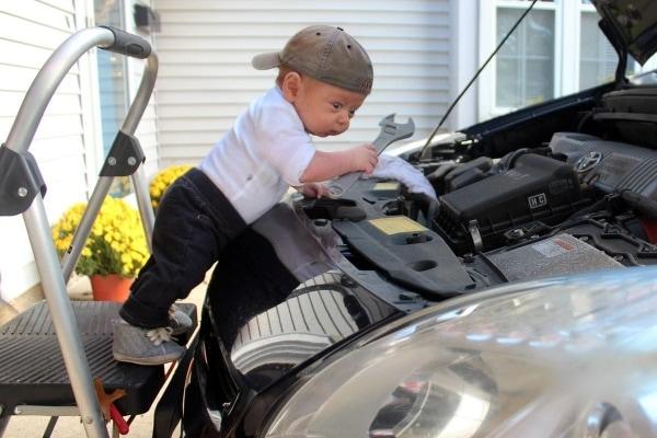 Matt Mac und sein ziemlich umtriebiger Sohn Ryan (9 Wochen alt) | Lustiges | Was is hier eigentlich los? | wihel.de
