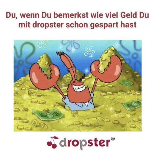 Nervenkitzel-Shopping mit dropster – Denn der Preis fällt sekündlich | sponsored Posts | Was is hier eigentlich los? | wihel.de