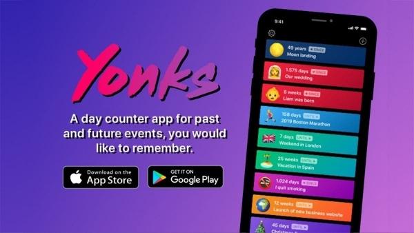 Yonks - Ein Day-Counter, der auch nach was aussieht | iOS und mehr | Was is hier eigentlich los?