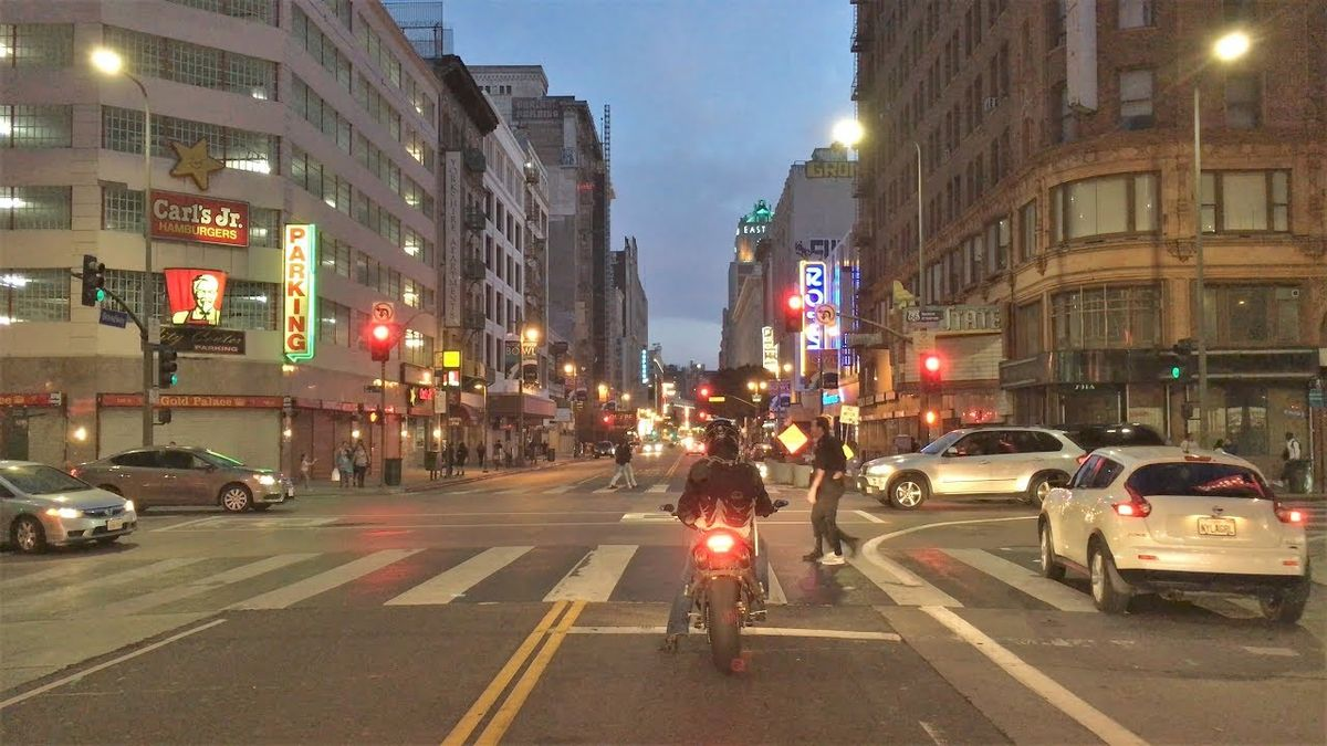 1 Stunde in 4K durch Los Angeles gefahren | Travel | Was is hier eigentlich los?