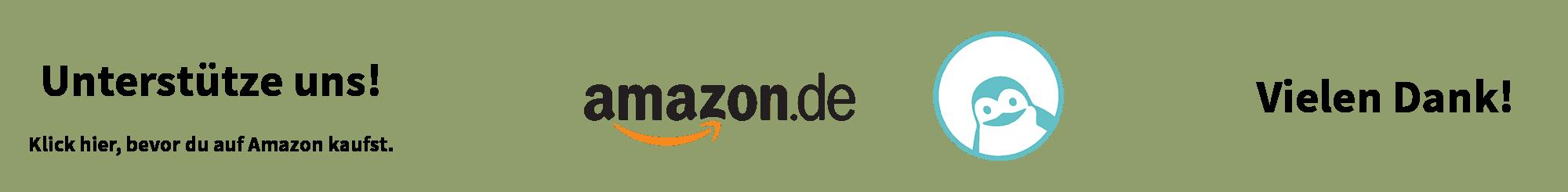 Unterstütze uns! Klick hier, bevor du auf Amazon kaufst. Vielen Dank!