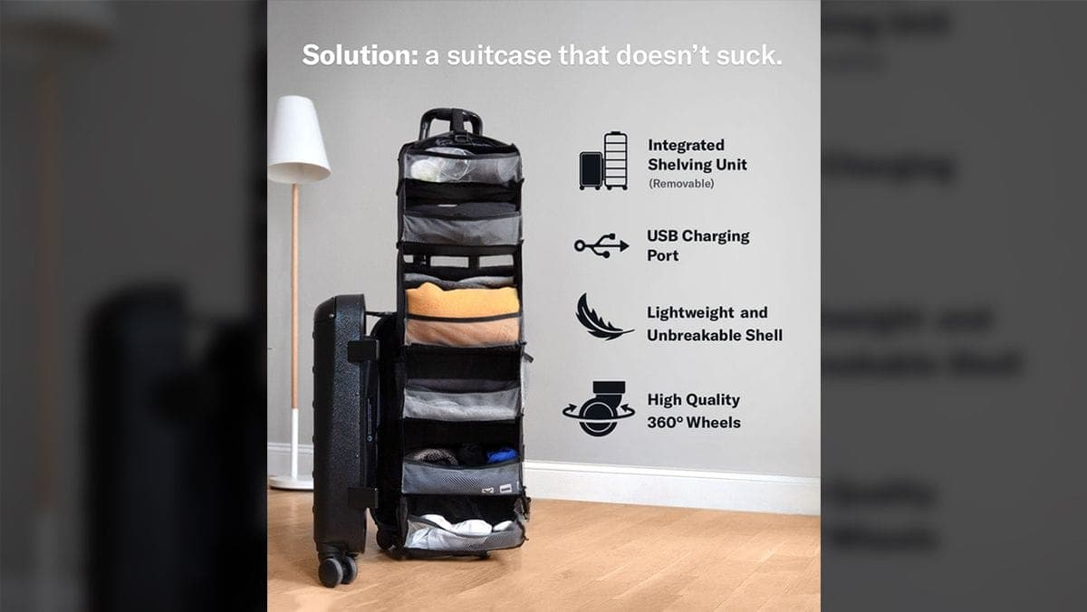 Carry-On Closet 2.0 – Das Solgaard Suitecase | Gadgets | Was is hier eigentlich los?