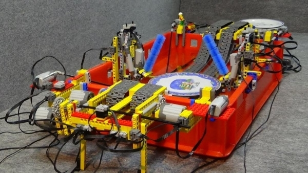 Eine automatische Geschirr-Waschstraße aus LEGO | Gadgets | Was is hier eigentlich los? | wihel.de