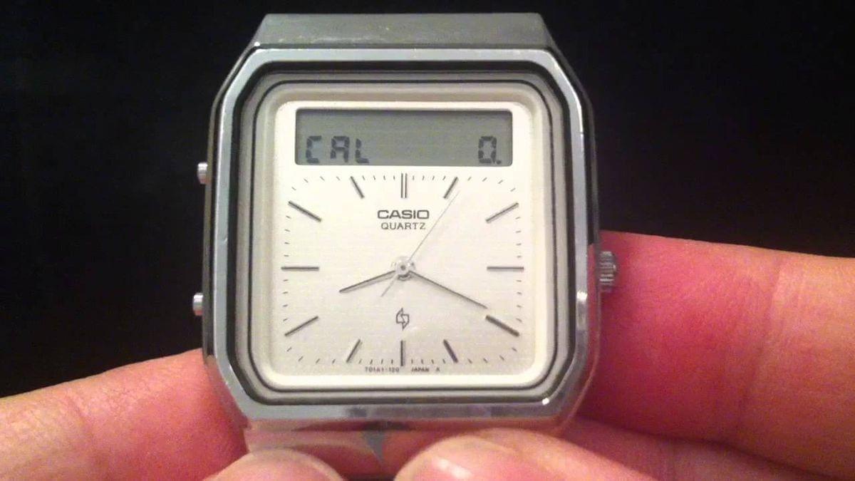 Eine Uhr mit Touch-Bedienung aus dem Jahr 1984 – Die Casio AT-552 Janus | Gadgets | Was is hier eigentlich los?