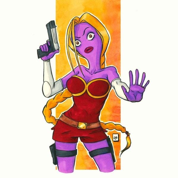 Linda Bouderbala und ihre Mashup-Comic-Figuren | Design/Kunst | Was is hier eigentlich los?