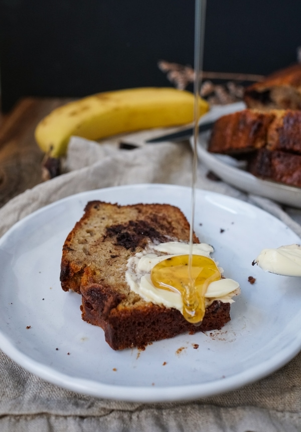 Line backt Chocolate Chip Banana Bread | Line backt | Was is hier eigentlich los?