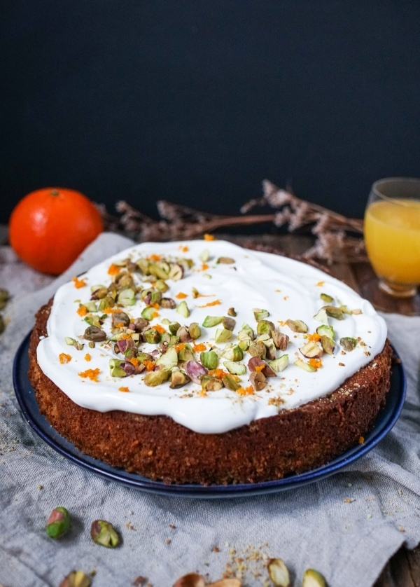 Line backt Pistazien-Mandarinen-Kuchen mit griechischem Joghurt | Line backt | Was is hier eigentlich los? | wihel.de