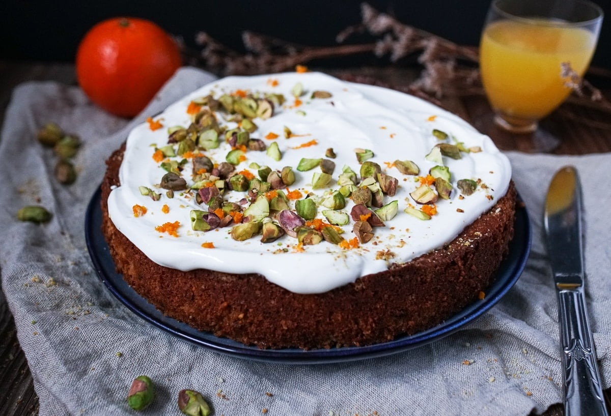 Line backt Pistazien-Mandarinen-Kuchen mit griechischem Joghurt | Line backt | Was is hier eigentlich los?