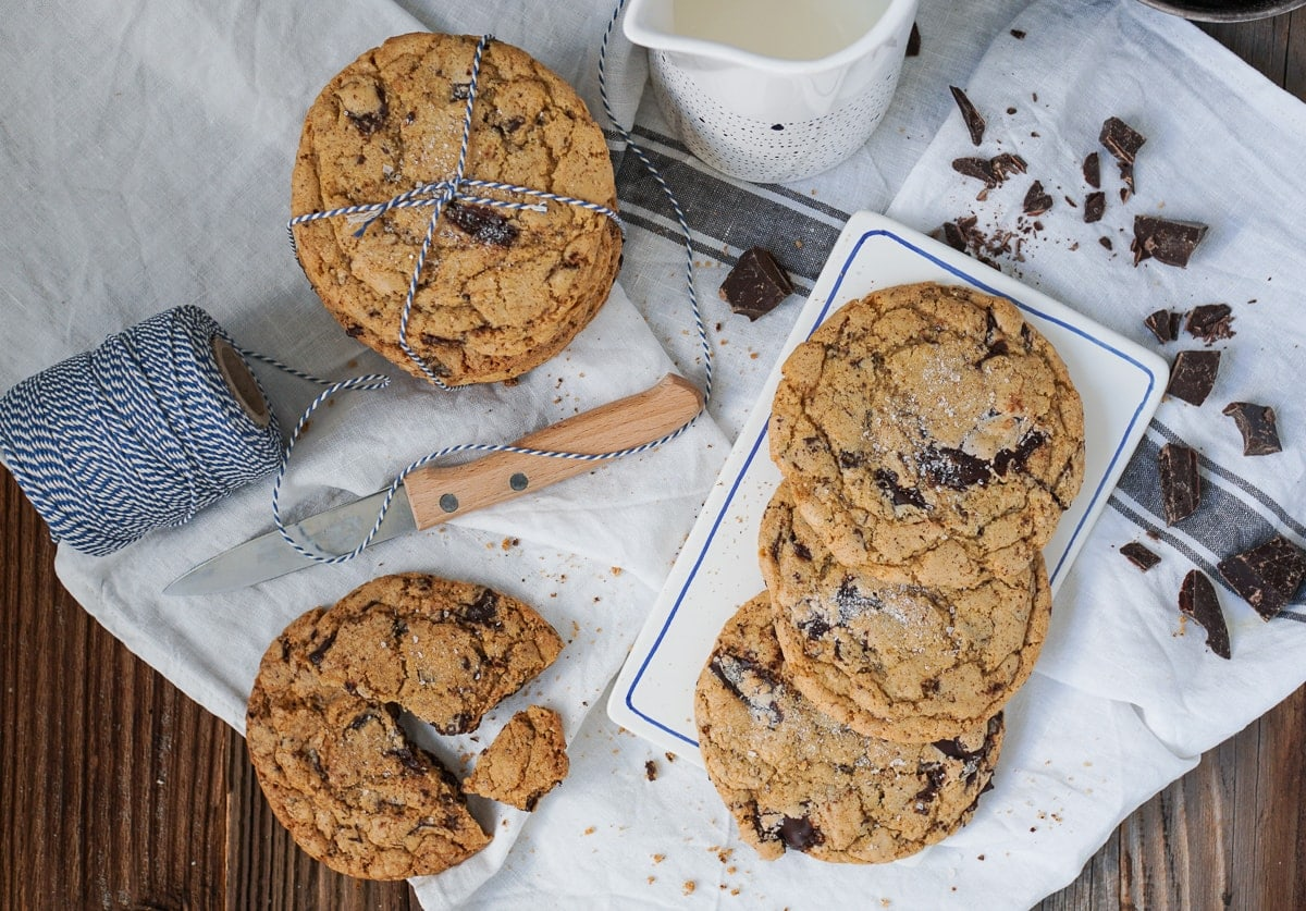 Line backt Salty Chocolate-Chip-Cookies | Line backt | Was is hier eigentlich los?