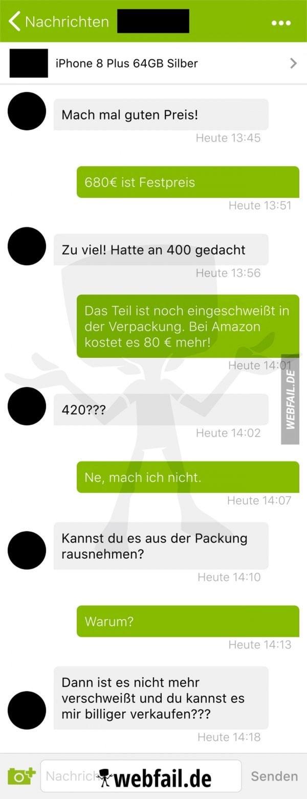 Trick 17 bei ebay Kleinanzeigen | Lustiges | Was is hier eigentlich los? | wihel.de