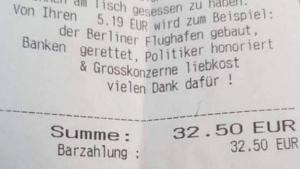 Der erste, ehrliche Kassenbon der Welt | Lustiges | Was is hier eigentlich los? | wihel.de