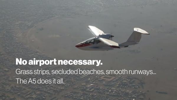 Ein Miniflugzeug für Zuhause – das ICON A5 | Gadgets | Was is hier eigentlich los?