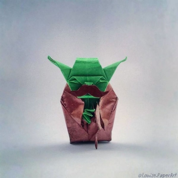Origami-Figuren von Louise Cassidy | Design/Kunst | Was is hier eigentlich los? | wihel.de