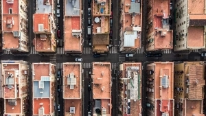 Barcelona aus der Vogelperspektive von Márton Mogyorósy | Fotografie | Was is hier eigentlich los? | wihel.de