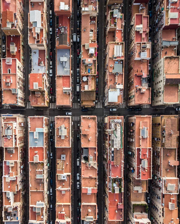 Barcelona aus der Vogelperspektive von Márton Mogyorósy | Fotografie | Was is hier eigentlich los?