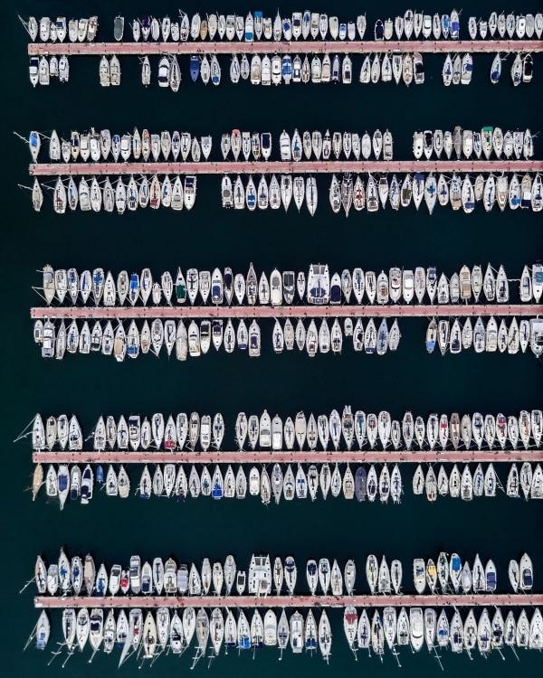 Barcelona aus der Vogelperspektive von Márton Mogyorósy   Fotografie   Was is hier eigentlich los?   wihel.de