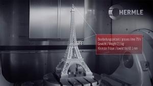 Der Eiffelturm aus einem Metallblock gefräst | Handwerk | Was is hier eigentlich los?