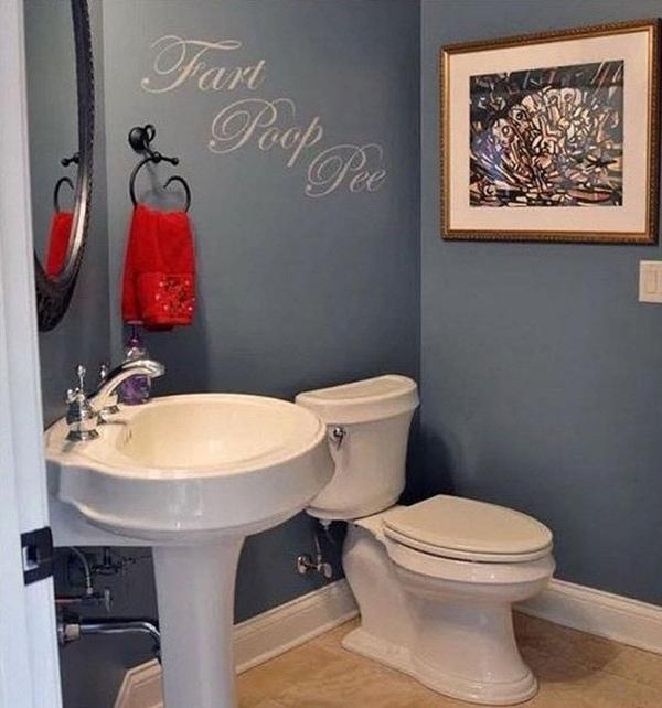 Der einzige Badezimmerspruch, den man haben darf   Lustiges   Was is hier eigentlich los?   wihel.de