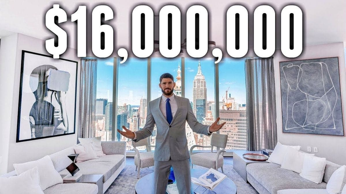 Eine Tour durch ein 16 Millionen-Dollar-Apartment in New York | Awesome | Was is hier eigentlich los?