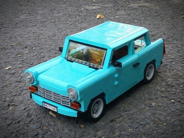 Ein Trabant 601 aus LEGO | Gadgets | Was is hier eigentlich los? | wihel.de