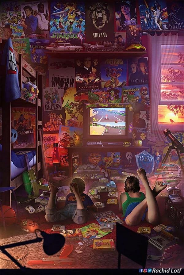 Eine Hommage an die Kinderzimmer der 90er von Rachid Lotf | Design/Kunst | Was is hier eigentlich los? | wihel.de