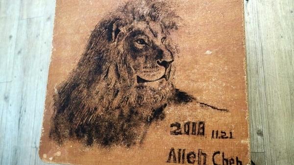 Kunst aus echten Haaren von Allen Chen | Design/Kunst | Was is hier eigentlich los?