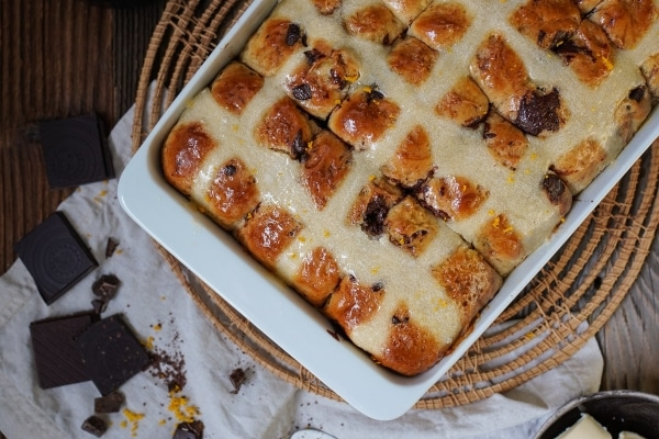 Line backt Chocolate Orange Hot Cross Buns | Line backt | Was is hier eigentlich los? | wihel.de