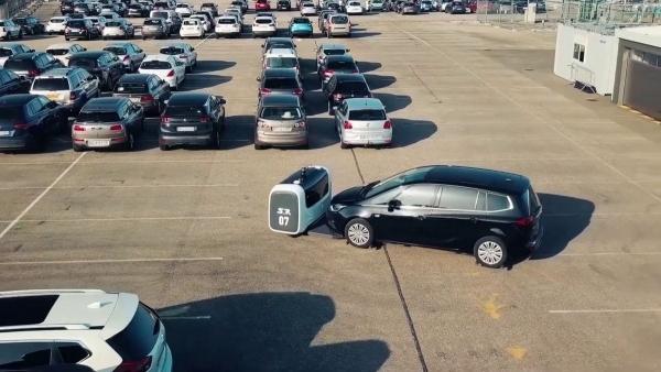 Roboter, die unsere Autos parken - Stanley Robotics   Gadgets   Was is hier eigentlich los?   wihel.de