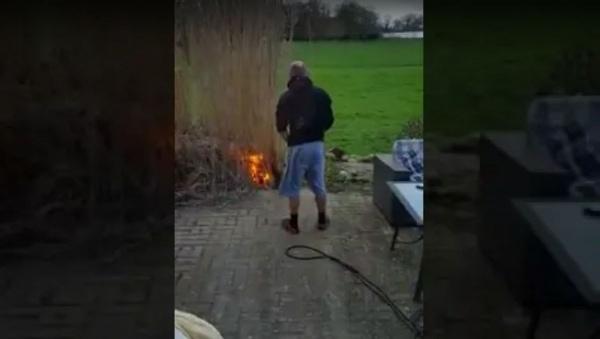 Wenn Mann Feuer gemacht hat (und die Hecke der Schwiegereltern abfackelt) | WTF | Was is hier eigentlich los? | wihel.de